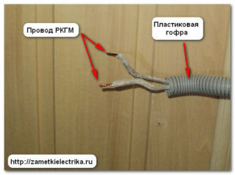 Какой кабель использовать для проводки в бане?