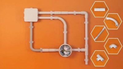 Пластиковые трубы для проводки кабеля