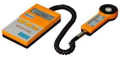 Прибор для измерения пульсации света