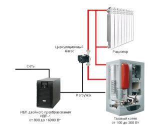 Как рассчитать мощность стабилизатора для газового котла?