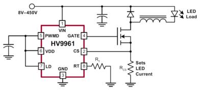 Источник тока для мощных светодиодов