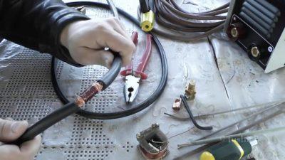 Проводка для сварочного инвертора