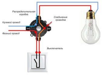 Как подсоединить проводку к выключателю?