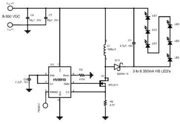 ШИМ контроллер для светодиодов