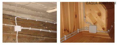 Как вести проводку в деревянном доме?