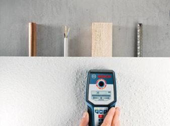 Прибор для поиска арматуры в стене