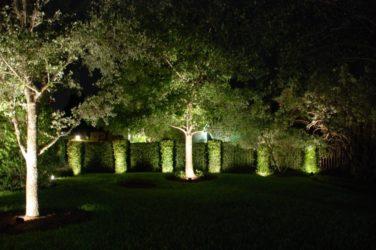 Освещение дачного участка светодиодами