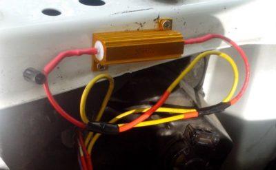 Нагрузочный резистор для светодиода в автомобиль