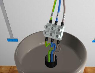 Как соединить провода люстры и проводки?