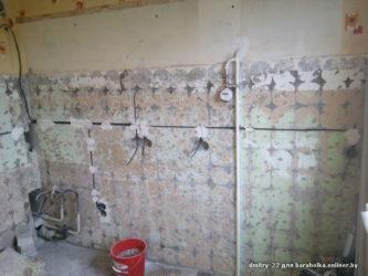 Замена проводки в панельном доме без штробления