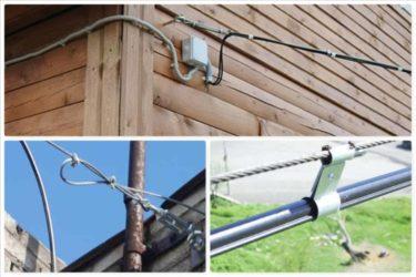 Трос для проводки кабеля