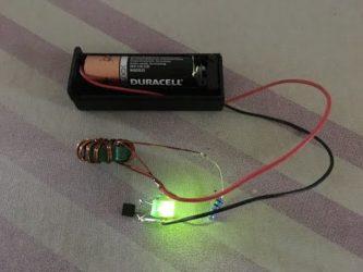 Светодиоды от батареек своими руками